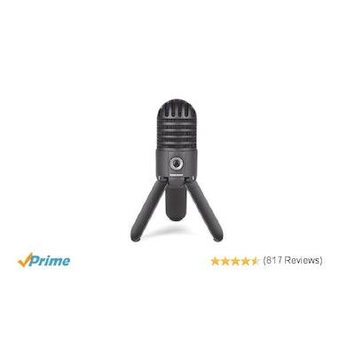 Amazon.com: Samson Meteor Mic USB Studio Microphone (Titanium Black): Musical In