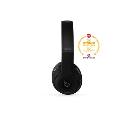 Beats Studio Wireless Headphones (Matte Black) | BeatsByDre