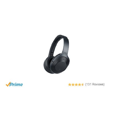 Sony MDR1000X Premium Noise Cancelling, Bluetooth Headphone