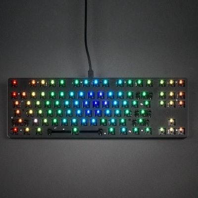 Glorious Modular RGB TENKEYLESS Mechanical Gaming Keyboard (TKL) Brown Swit