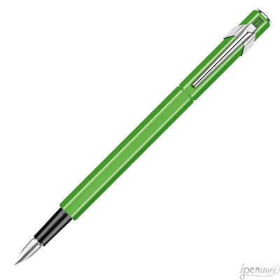 Caran d'Ache 849 Swiss Made Fountain Pen, Fluorescent Green