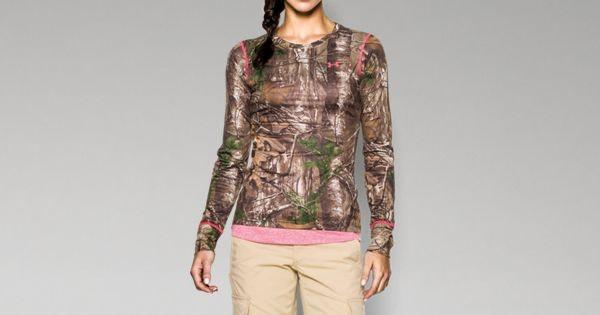 Women's HeatGear® EVO Camo Long Sleeve | Under Armour US