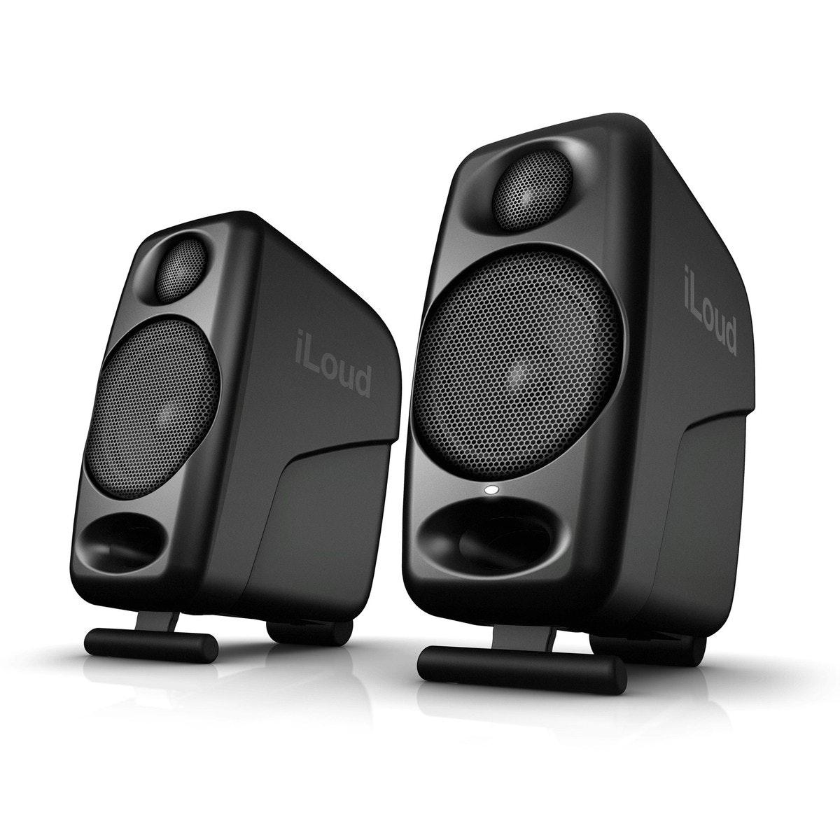 IK Multimedia iLoud Micro Monitors (Pair, Black) IP-ILOUD-MM-IN