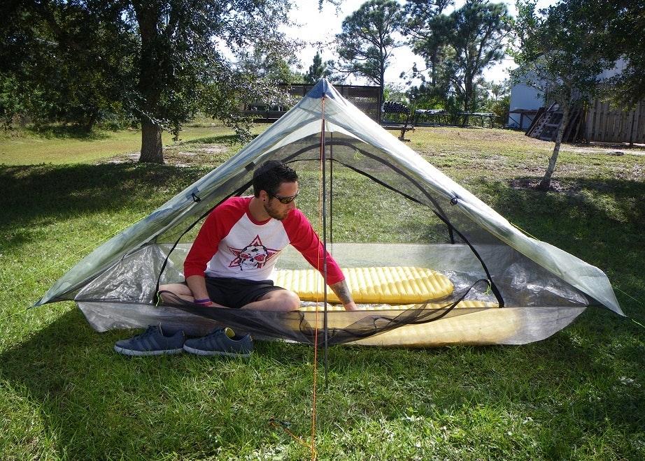 Ultralight Two Person Tent | Zpacks | Lightest 2 Person Tent  sc 1 st  Massdrop & Single Person Tent/Bivii Poll | Massdrop
