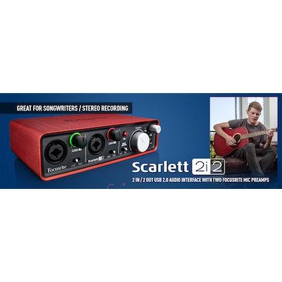 Scarlett 2i2 | Focusrite
