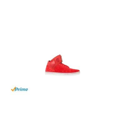 Amazon.com   SUPRA Men's Atom Sneaker 13 Red   Fashion Sneakers