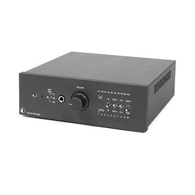 Amazon.com: Pro-Ject - Pre Box RS Digital - Stereo Preamplifier Digital - Black:
