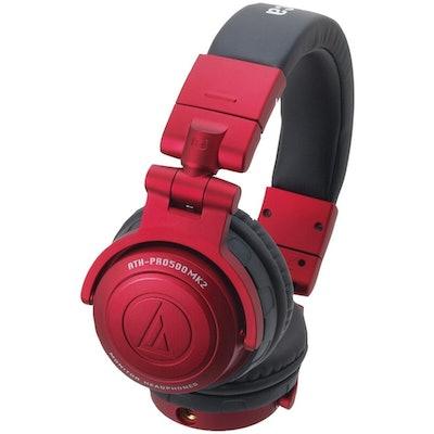 Audio-Technica ATH-PRO500MK2 Over-Ear Pro DJ Headphones