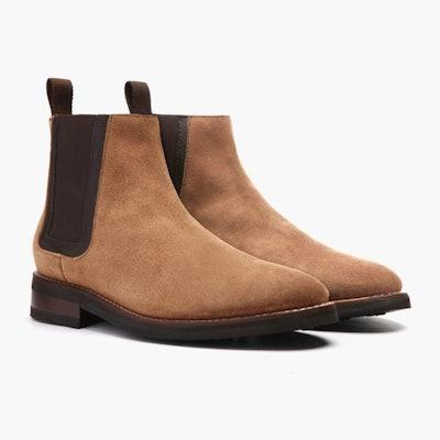 Honey Suede Duke Chelsea Boot | Thursday Boot Company                     A