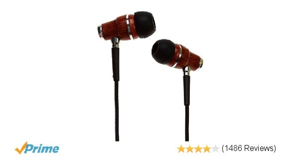 Amazon.com: Symphonized NRG Premium Genuine Wood In-ear Noise-isolating Headphon