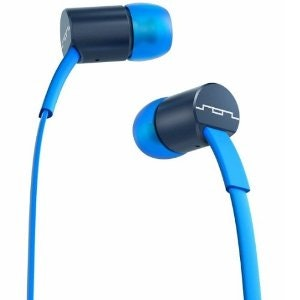 SOL REPUBLIC JAX In-Ear Headphones with 3-Button Mic and Music Control - Blue/St