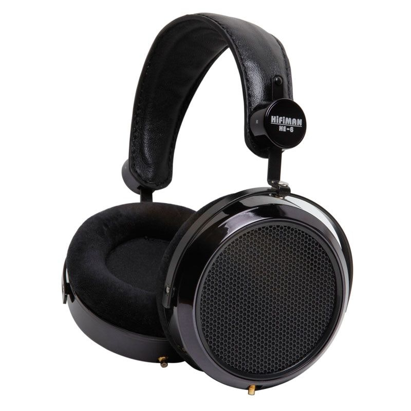 HIFIMAN HE6 - Reference Planar Magnetic Headphone for the Critical Listener.