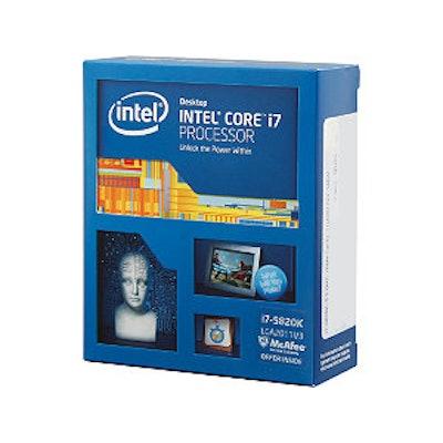 ntel Core i7-5820K Haswell-E 6-Core 3.3GHz LGA 2011-v3 140W BX80648I75820K Deskt