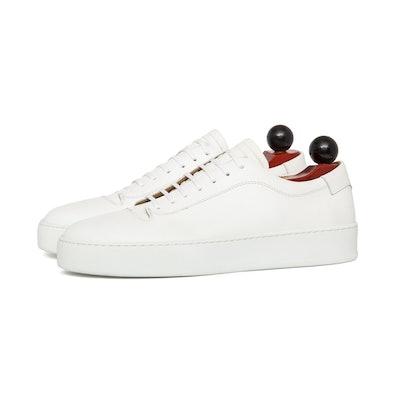 Olympia - White Calf / White Rubber Sole – J.FitzPatrick Footwear