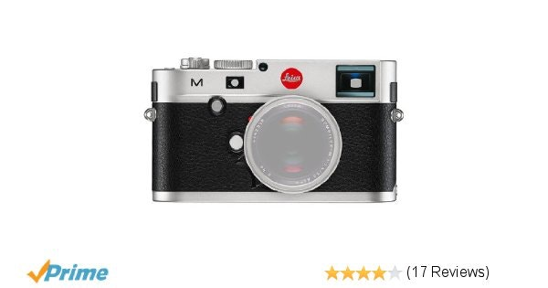 Amazon.com : Leica 10771 M 24MP RangeFinder Camera with 3-Inch TFT LCD Screen -