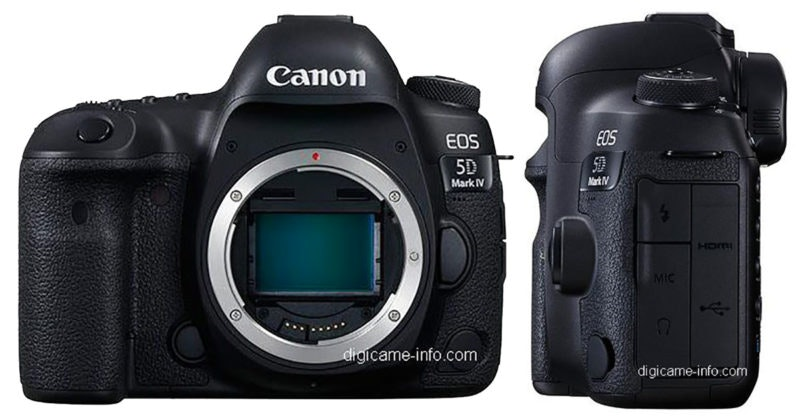 Canon 5D Mark IV Body-Only