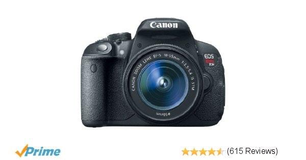 Amazon.com : Canon EOS Rebel T5i EF-S 18-55 IS STM Kit : Camera & Photo