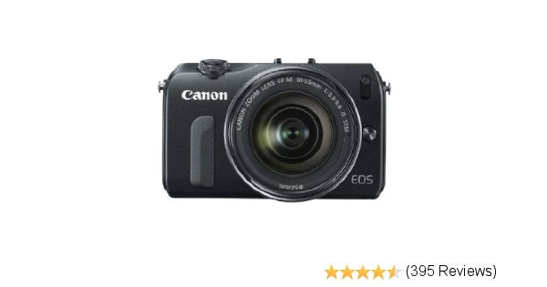 Amazon.com : Canon EOS M 18.0 MP Compact Systems Camera with 3.0-Inch LCD and EF