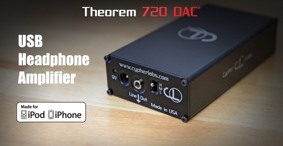 Theorem 720 DAC ® - Cypher Labs