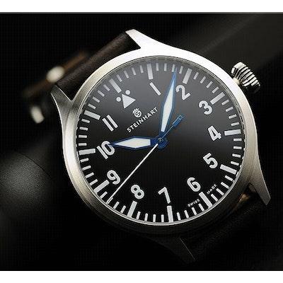 4f4c4e024de Nav B-Uhr 44 Automatic A-Type - Pilot Watch - Steinhart Watches