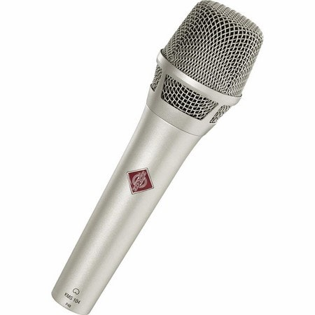Neumann KMS104 Plus - Handheld Stage Mic