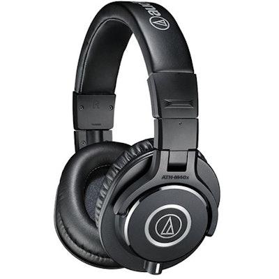 Audio Technica ATH M40x Studio Headphones (Black) | Studio / Monitoring Headphon