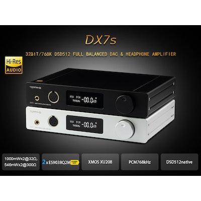 DX7s Full Balanced DAC&Headphone Amp,TOPPING