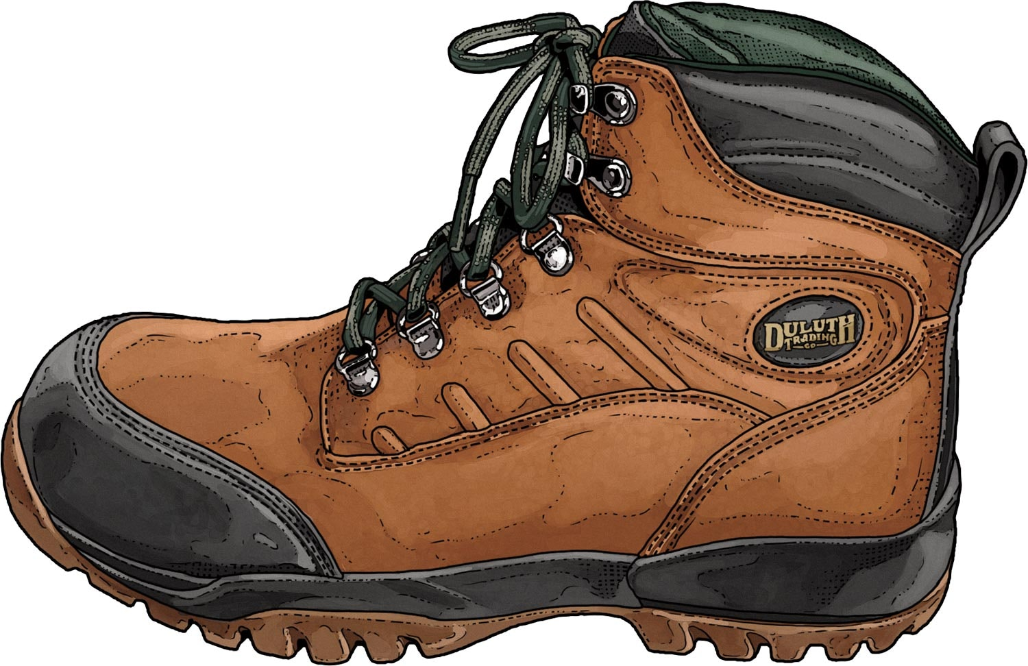 """Men's Grindstone 6"""" Waterproof Composite Toe Boots - Duluth Trading"""