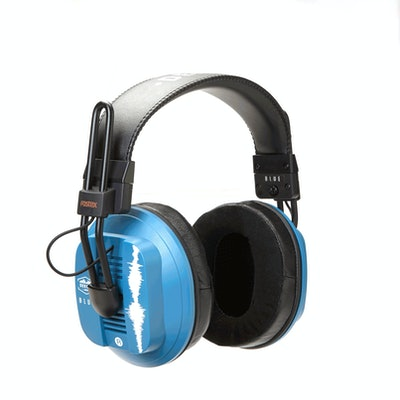 Dekoni Audio Blue - Fostex/Dekoni HiFi Audiophile Planar Magnetic Headphone - De