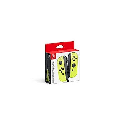 Amazon.com: Nintendo Joy-Con (L/R) - Neon Yellow: nintendo switch: Video Games