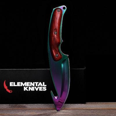 Real Gut Knife Fade - Elemental Knives