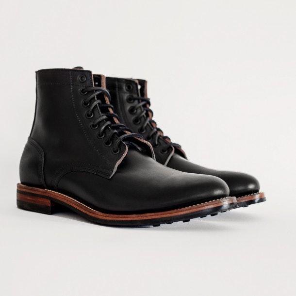 Oak Street Bootmakers Black Danite Trench Boot