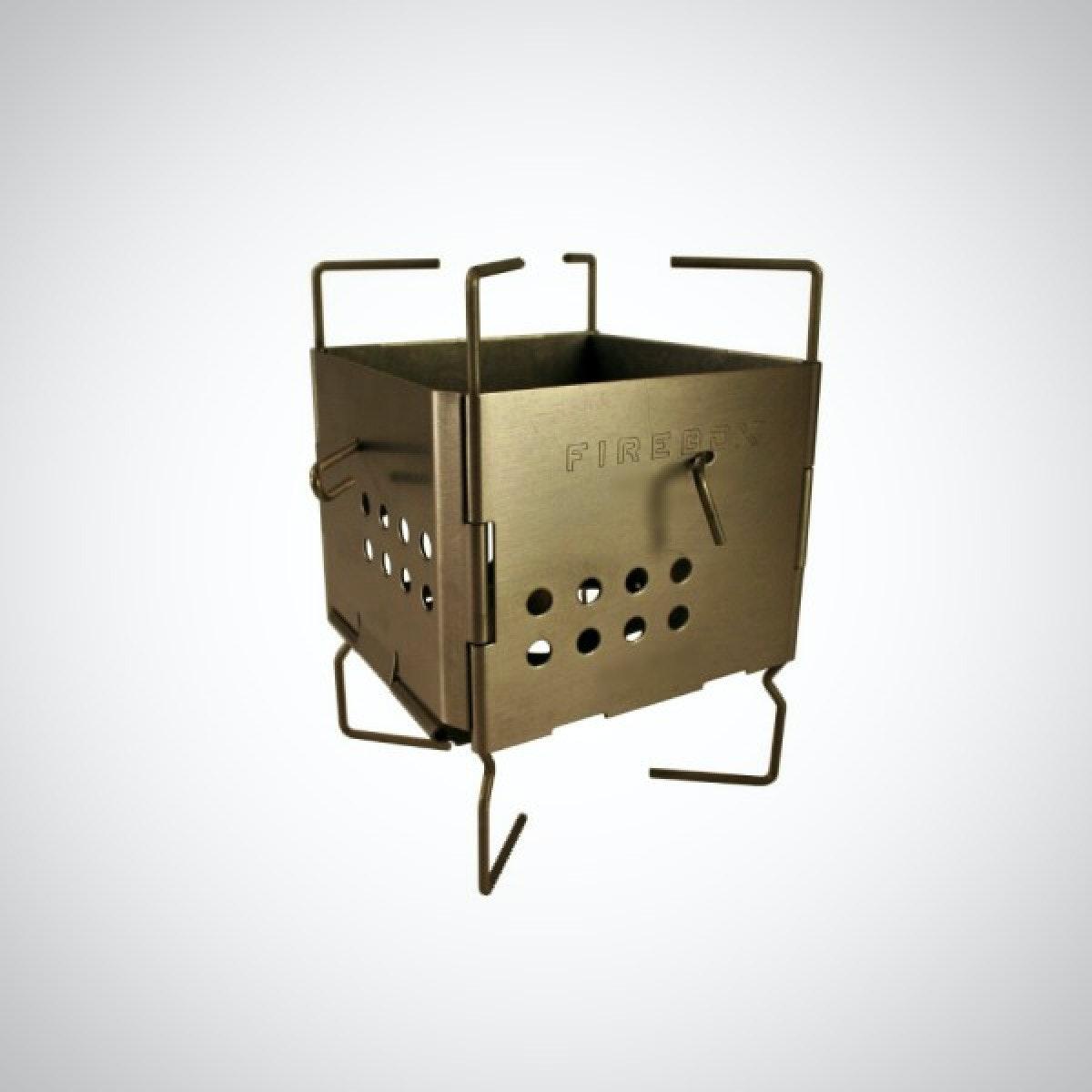 Firebox Nano Gen II - 4 oz Titanium Folding Ultralight Stove