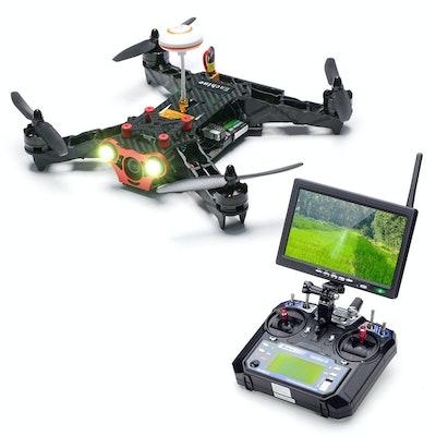 Eachine Racer 250 FPV Drone w/ Eachine I6 2.4G 6CH Transmitter 7 Inch 32CH Monit