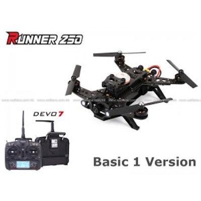 Walkera Runner 250 Quadcopter Basic 1 Version with Devo 7 Transmitter ( Assemble