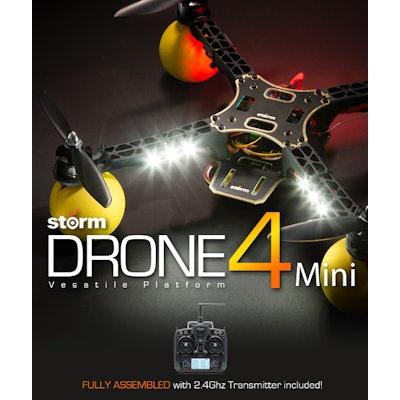 STORM Drone 4 Mini Flying Platform (RTF / CC3D) - HeliPal