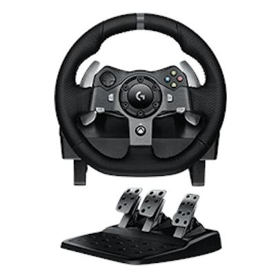 Logitech G G920 Driving Force game steering wheel