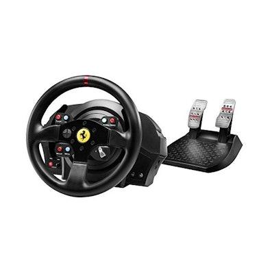 Thrustmaster - Volante T300 Ferrari GTE (PS4, PS3,PC)