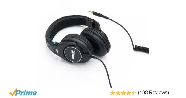Amazon.com: Shure SRH840 Professional Monitoring Headphones (Black): Musical Ins