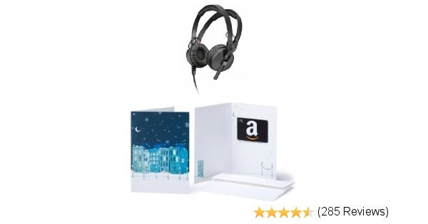 Sennheiser HD 25-1 II 75$ gift card bundle