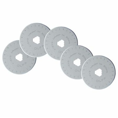 Olfa 5 pack - 45MM  Blades For RTY-2/G - 091511500806