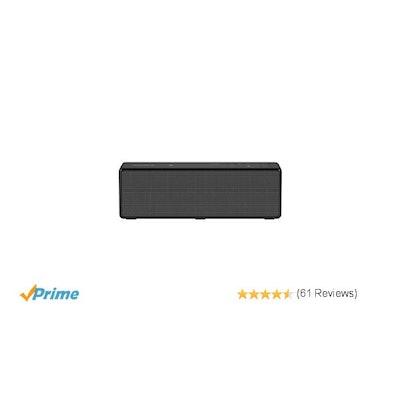 Amazon.com: Sony SRSX33 Powerful Portable Bluetooth Speaker (Black): MP3 Players