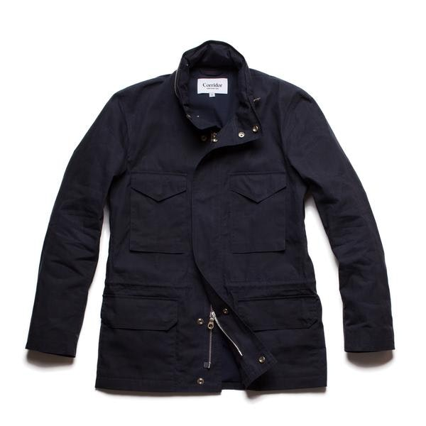 Waxed Cotton M65 - Navy – Corridor