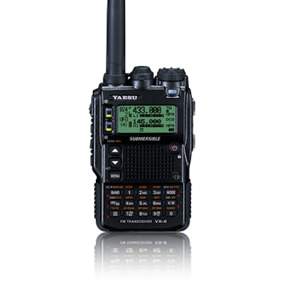 Yaesu VX8-DR Dual Band Handheld Transceiver with Wideband Receive