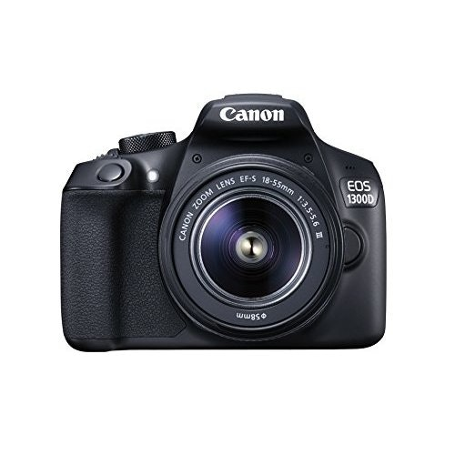Canon EOS 1300D DSLR Camera with EF-S18-55 DC III