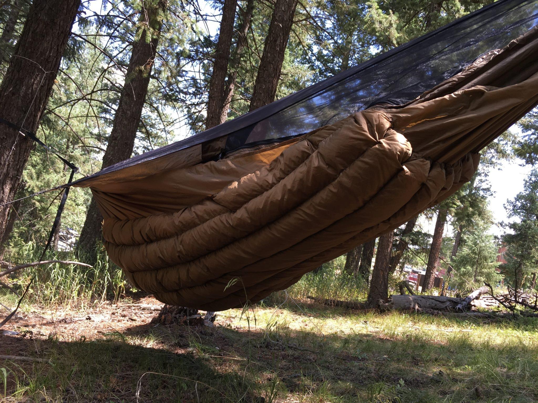 Full Length Hammock Underquilt   Wooki Underquilt   Warbonnet Outdoors