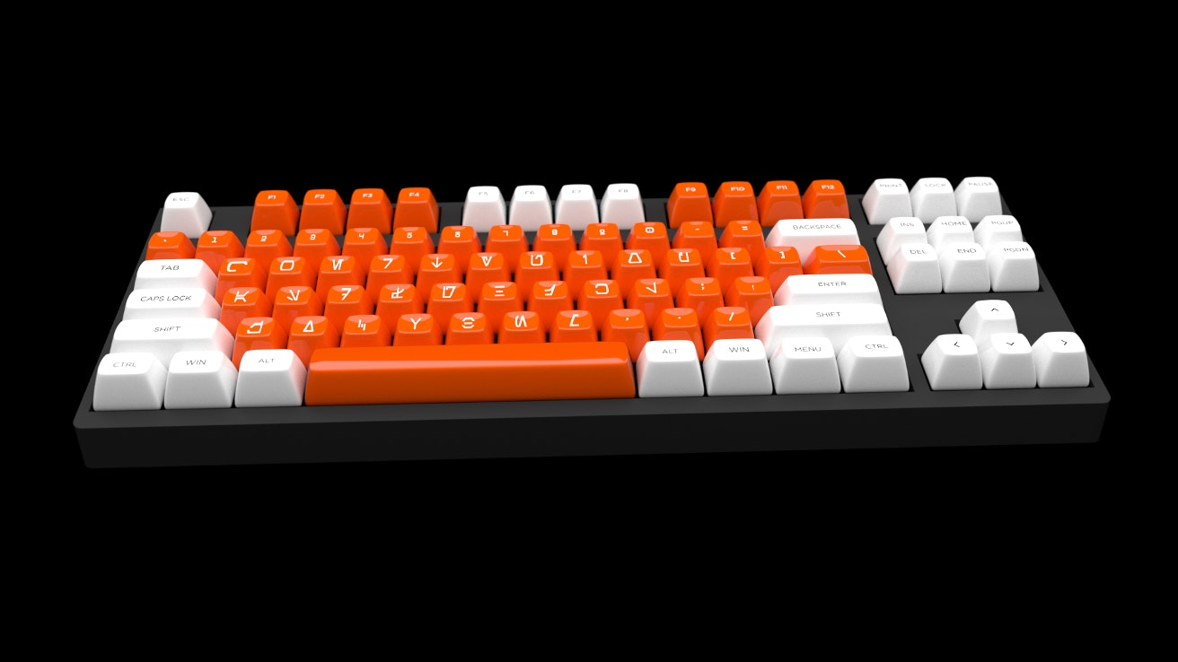 [IC] REBEL - SA keycap set *Updated 8/02*