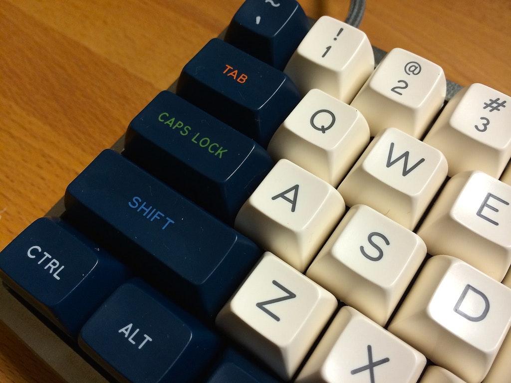 Penumbra SA keycap set