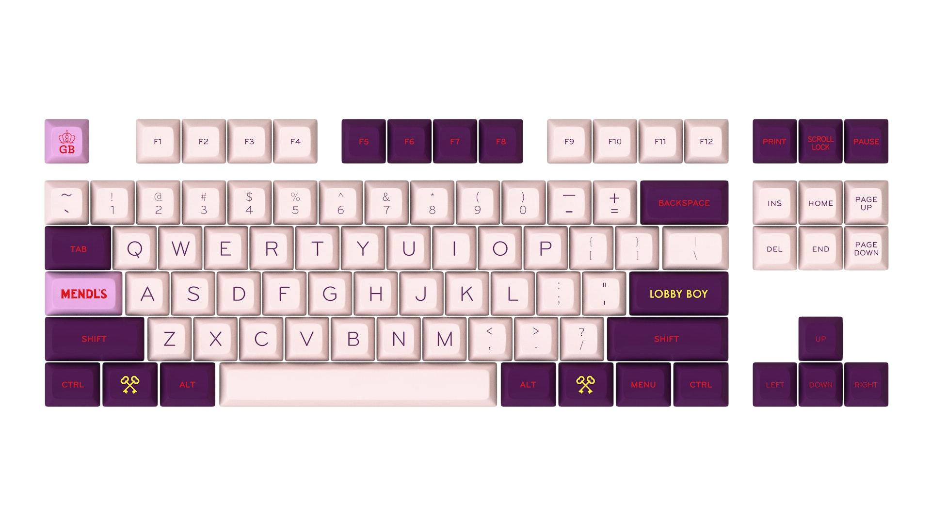 [GB] SA Grand Budapest – Key Clack