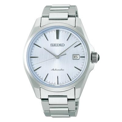 Seiko Presage SARX043 — Light Blue Dial in Gorgeous Steel Case